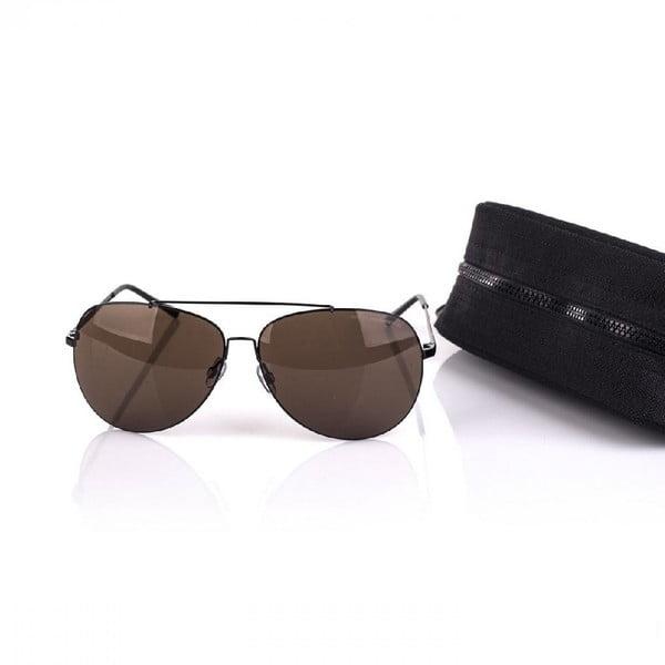 Sluneční brýle Arctica Aviator Black/Brown