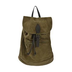 Béžový kožený batoh Chicca Borse Inna