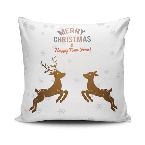 Reindeeers Jumping párna, 45 x 45 cm
