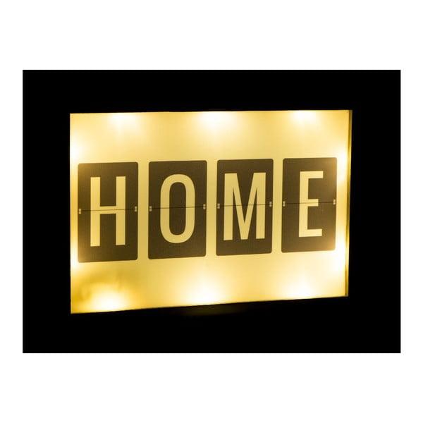 Svítíci LED dekorace Fisura Home