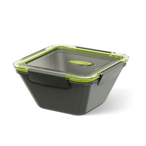 Box na jídlo Bento Box grey/green, 0,9 l