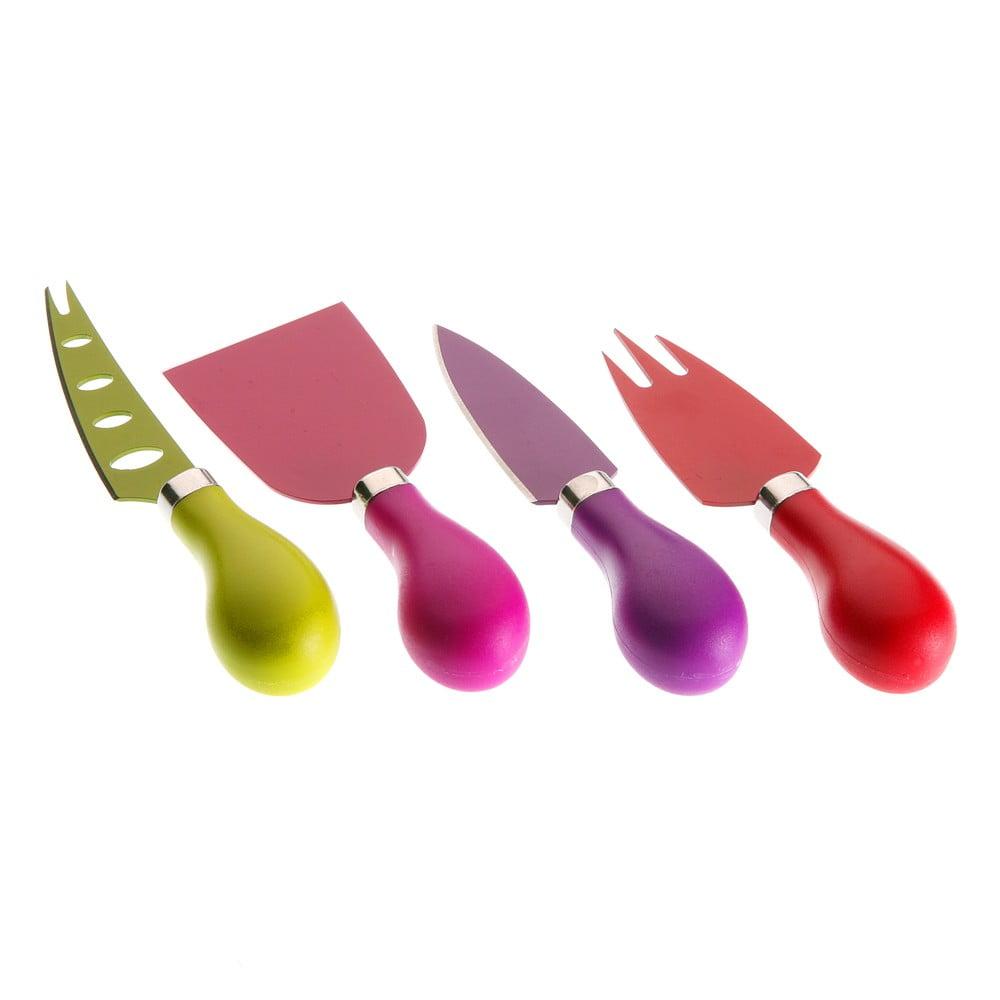 Sada 4 nožů na sýr Versa Chives