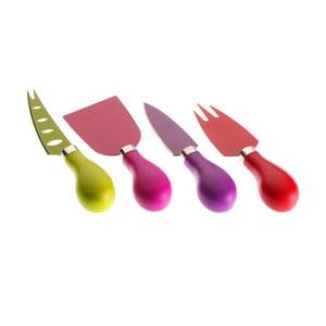 Set 4 cuțite pentru brânzeturi Versa Chives