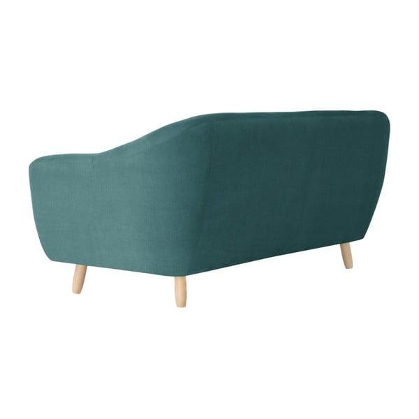Canapea pentru 3 persoane Jalouse Maison Vicky, turcoaz