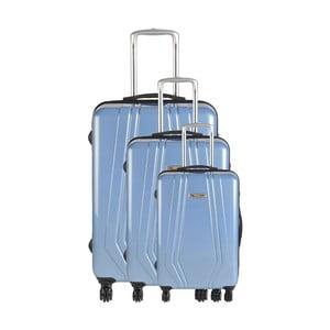 Set 3 cestovních kufrů Majestik Sky