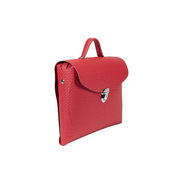 Kožená kabelka Take Red