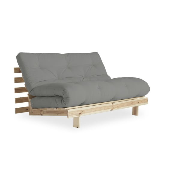 Sofa rozkładana Karup Design Roots Raw/Grey
