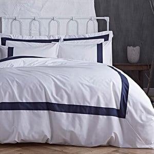 Modro-bílé povlečení Bianca Tailored, 135x200cm