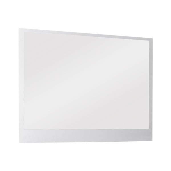 Nástěnné zrcadlo Outfit, bílé