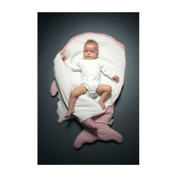 Dětský spací vak Pink Polka Dot, vhodné i na teplé dny