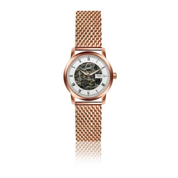 Dámske hodinky s ružovozlatým antikoro remienkom Walter Bach Kartio