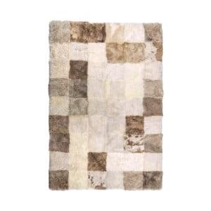 Pled din blană Cubes, 180 x 120 cm