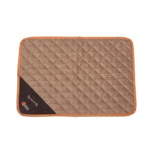 Psí termoizolační podložka Thermal Mat 75x52 cm, čokoládová