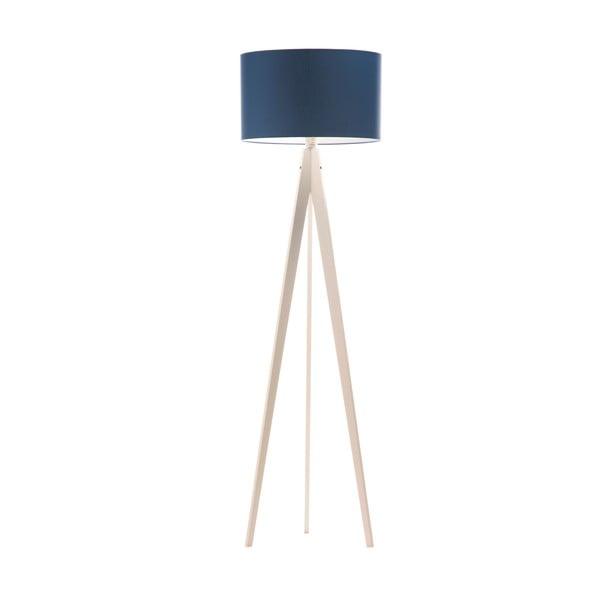 Stojací lampa Artist Dark Blue/White, 125x42 cm