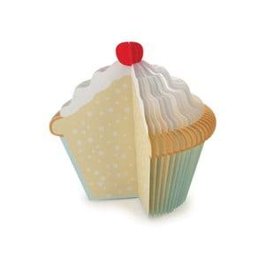 Poznámkový bloček Cupcake