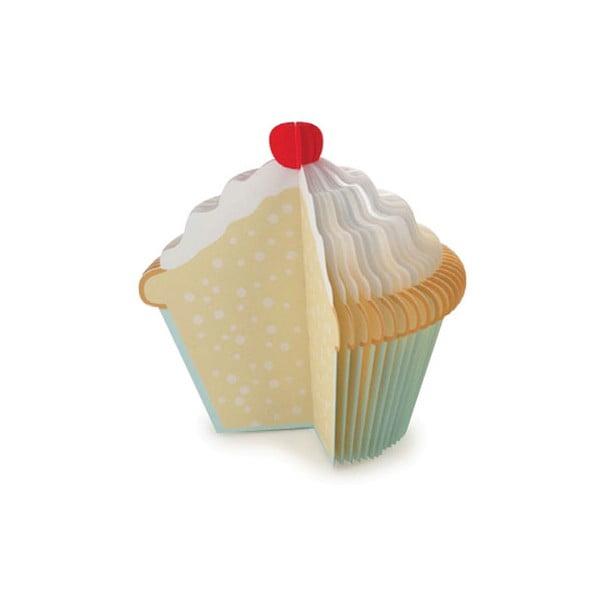 Cupcake jegyzettömb - Kikkerland