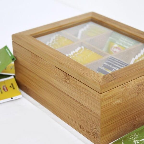 Cutie din bambus pentru ceai Bambum Misto