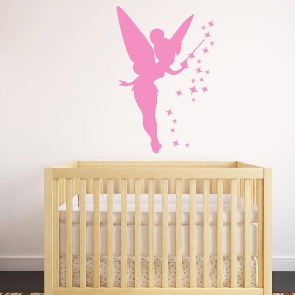 Autocolant Ambiance Fairy, 55 x 85 cm, roz
