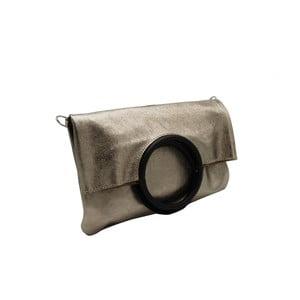 Hnědošedé psaníčko / kabelka z pravé kůže Andrea Cardone Lernie