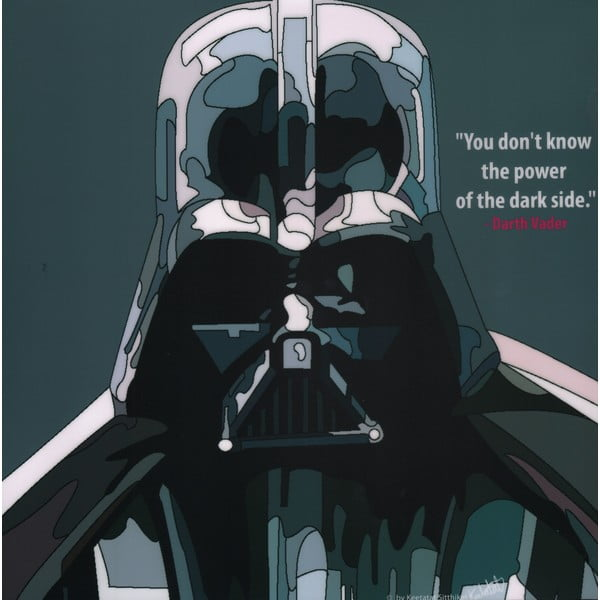 Obraz Darth vader - You dont know the power of the darkside