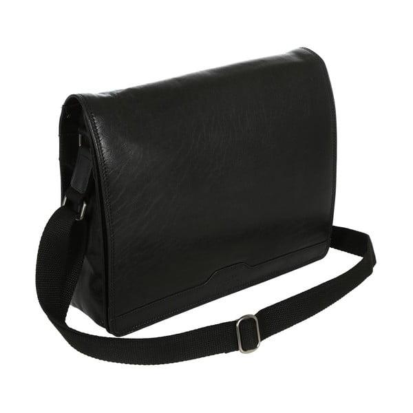 Pánská kožená taška Darwin Black