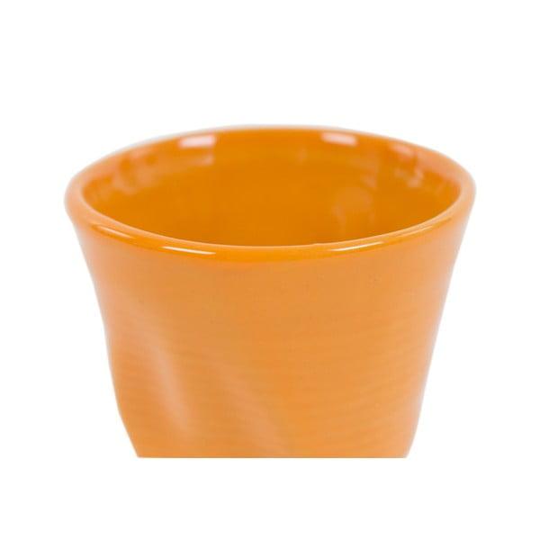 Sada 6 hrnků Kaleidos 110 ml, oranžová