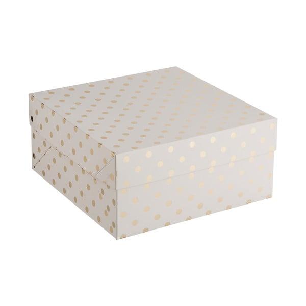 Cake pöttyös papírdoboz, 32 x 27,5 cm - Mason Cash