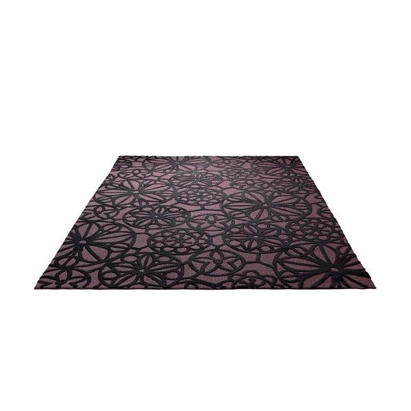 Koberec Society Circle Brown 160x230 cm
