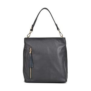 Černá kožená kabelka Sofia Cardoni Magnolia