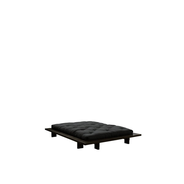 Posteľ Karup Design Japan Black, 160 × 200 cm