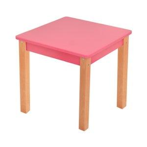 Růžový dětský stolek Mobi furniture Mario