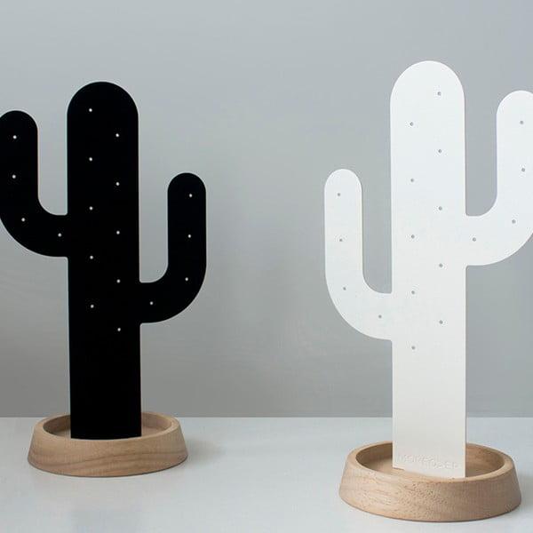 Bílý stojánek na šperky Qualy&CO Cactus