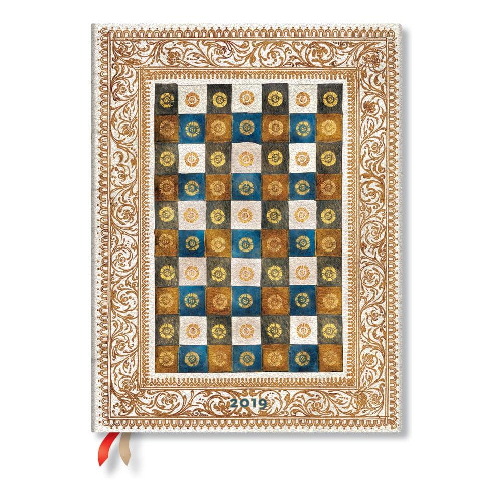 Diář na rok 2019 Paperblanks Aureo, 18 x 23 cm