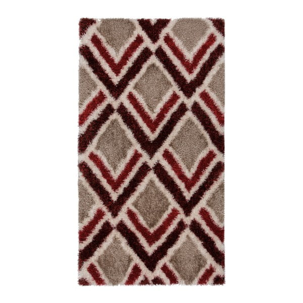 Covor Flair Rugs Bijoux Red Brown, 120 x 170 cm