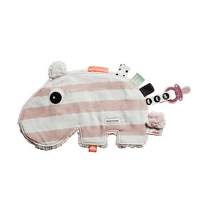 Jucărie multifuncțională Done by Deer Cozy Ozzo, roz - alb