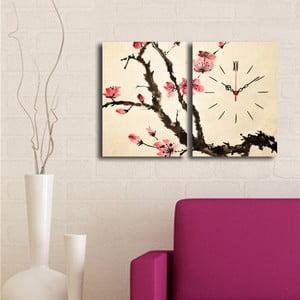 Obrazové hodiny Sakura