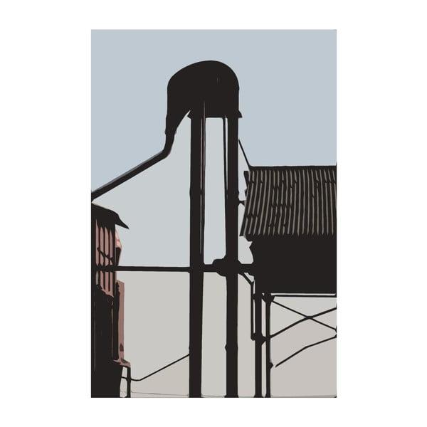 Obraz Město 24, 30x20 cm