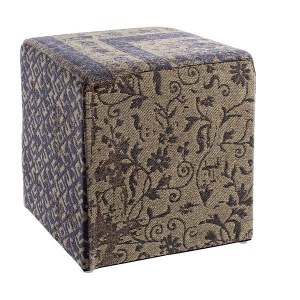 Stolička Twist Blue, 40x40x40 cm