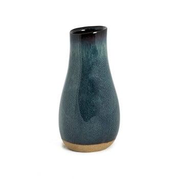 Vază din ceramică Simla Soft, înălțime 19cm, gri – albastru de la Simla