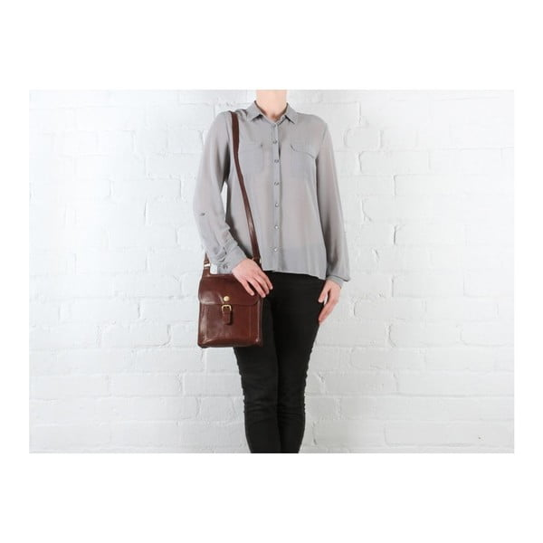 Dámská kožená taška Seraphina Brown