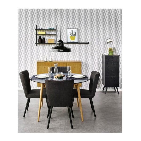 Konferenční stolek Niles 85x85 cm, černý