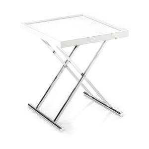 Bílý odkládací stolek Tomasucci Baldi