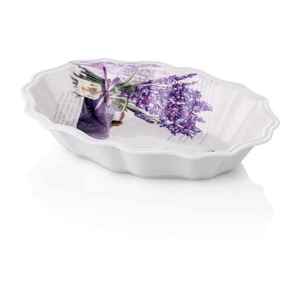 Porcelánový hluboký talíř Levandule, 24 cm