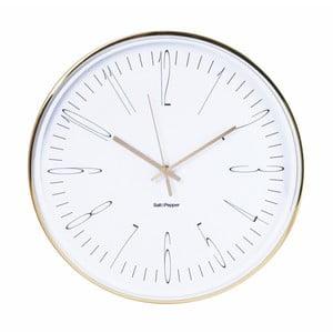 Nástěnné hodiny Salt&Pepper Metallic Zone, 38cm
