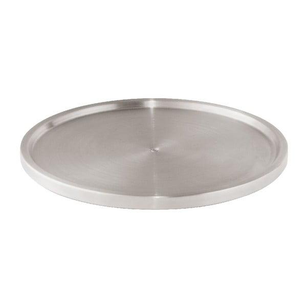 Platou rotativ din oțel din oțel inoxidabil Wenko Turn Uno, ø 26,5 cm