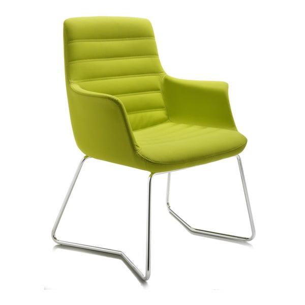 Limetková kancelářská židle Zago Vetta