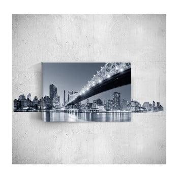 Tablou de perete 3D Mosticx Night City, 40 x 60 cm