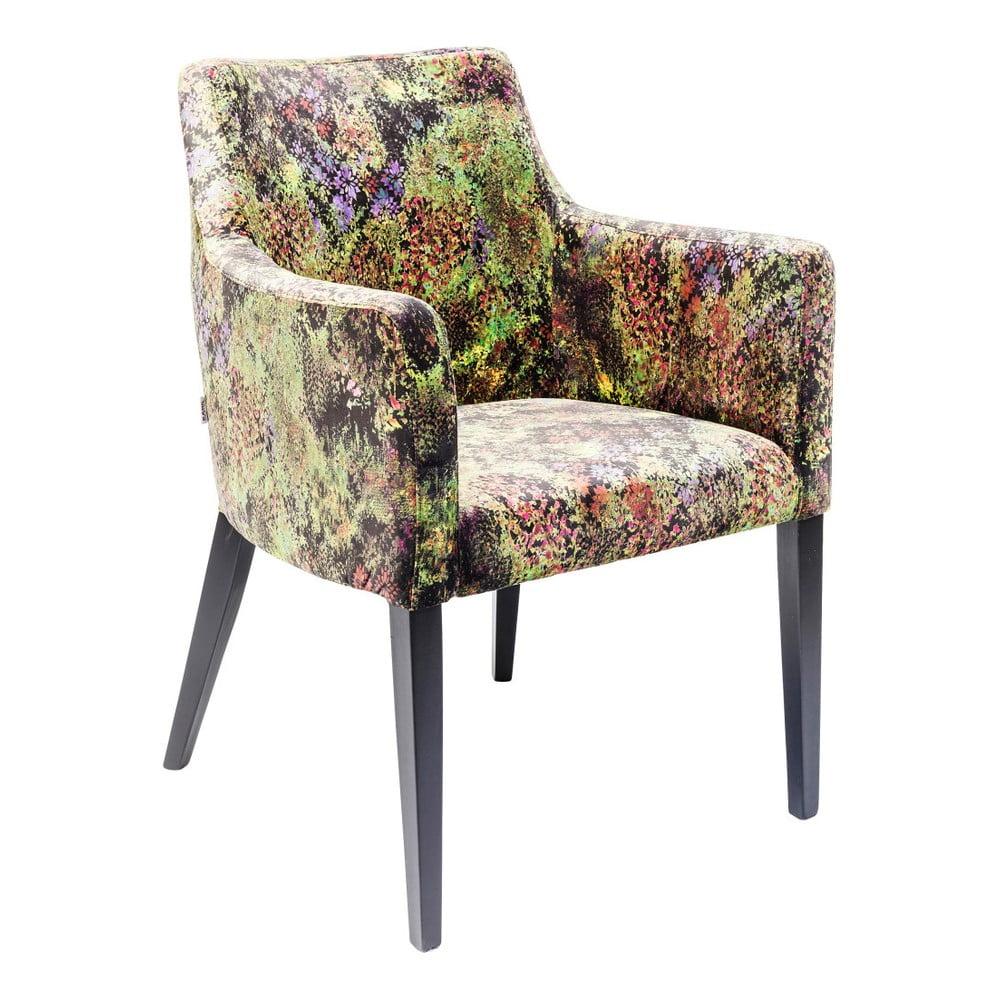 Barevná židle s opěrkami Kare Design Tropical