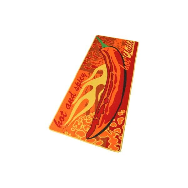 Kuchyňský běhoun Hanse Home Hot Chilli, 67x180cm