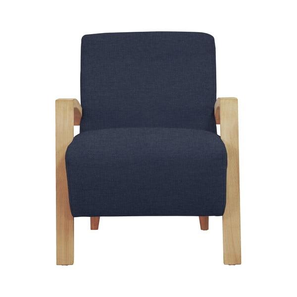 Tmavě modré křeslo Windsor & Co Sofas Luna